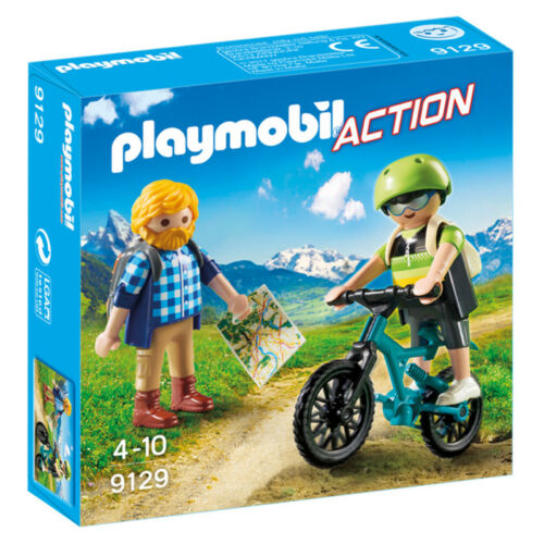 Playmobil Action Biker and Hiker 9129 NEW
