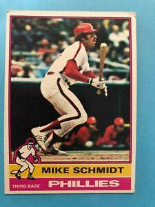 1976 Topps Baseball Card #480 Mike Schmidt Philadelphia Phillies HOF