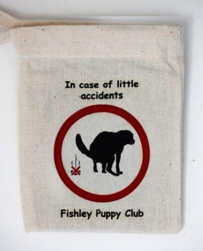 Coton Poo Bag Carrier Multi Packs Pour Chiot clubs ou groupes peut être Personnalisé  Mrs91