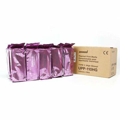SONY UPP110HG HI GLOSS PRINTER PAPER BOX OF 10 ROLLS