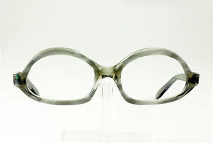 d5a37353df94 VINTAGE 1950 s CLEAR MIDNIGHT WASH EYEGLASS FRAMES HAND MADE NOS ...