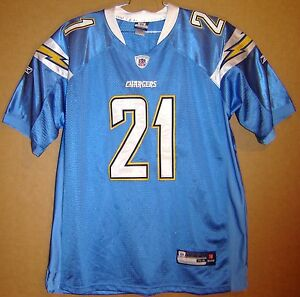 1123f72b Details about SAN DIEGO CHARGERS LADANIAN TOMLINSON Blue #21 Size 54 NFL  Reebok JERSEY