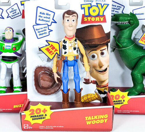 Toy Story Talking Woody You Choose Sets of 1-3 Talking Rex Talking Buzz