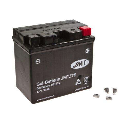 JMT gel batería ytz7s husaberg fe 501 e BJ 2003-2004