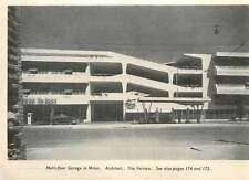 1953 Multifloor Garage In Milan, Architect Tito Varisco