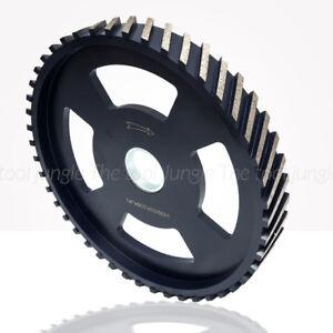 """14 inch x 1 5/8""""  (4cm) Diamond Segmented Milling Wheel Granite Stone Concrete"""