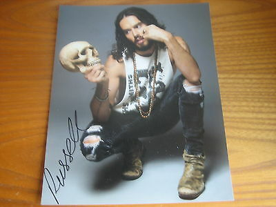 Russell Brand (Comedian) 10x8 handsigned RARE **FREE POST**