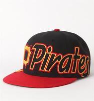 Forty Seven Brand Pittsburg Pirates Script Wool Blend Snapback Hat Cap