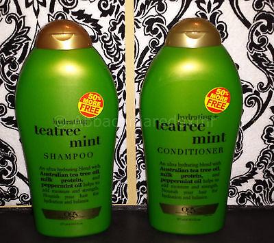 (1) Organix Teatree Mint Shampoo and (1) Conditioner 19.5 fl oz OGX