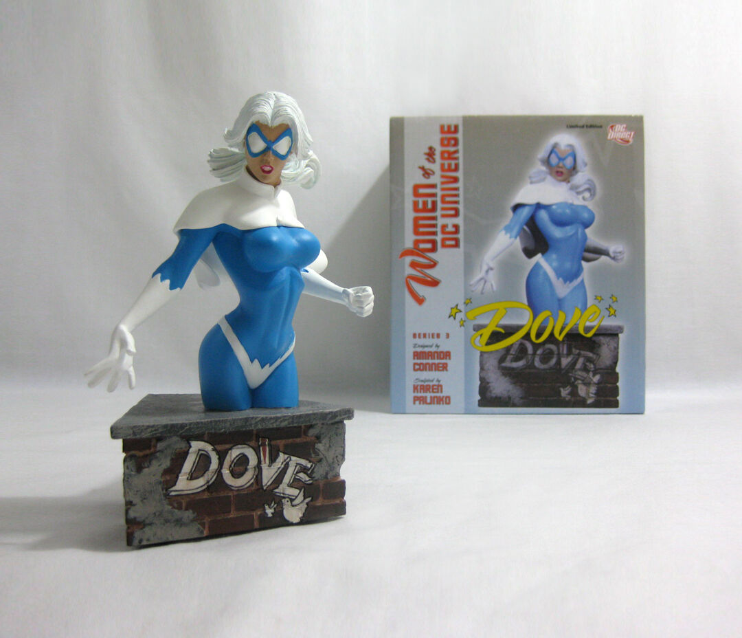 2011 DC Direct ✧ DOVE ✧ damen of the the the DC Universe Bust 70466b