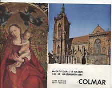 Martinsmünster in COLMAR - La Cathedreale St Martin