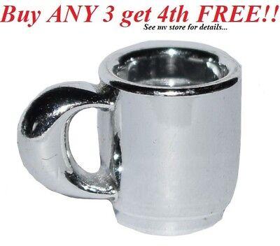 ☀️NEW Lego MINIFIG Lot//2 Trans PINK CUP Belville City Friends Coffee Food Mug