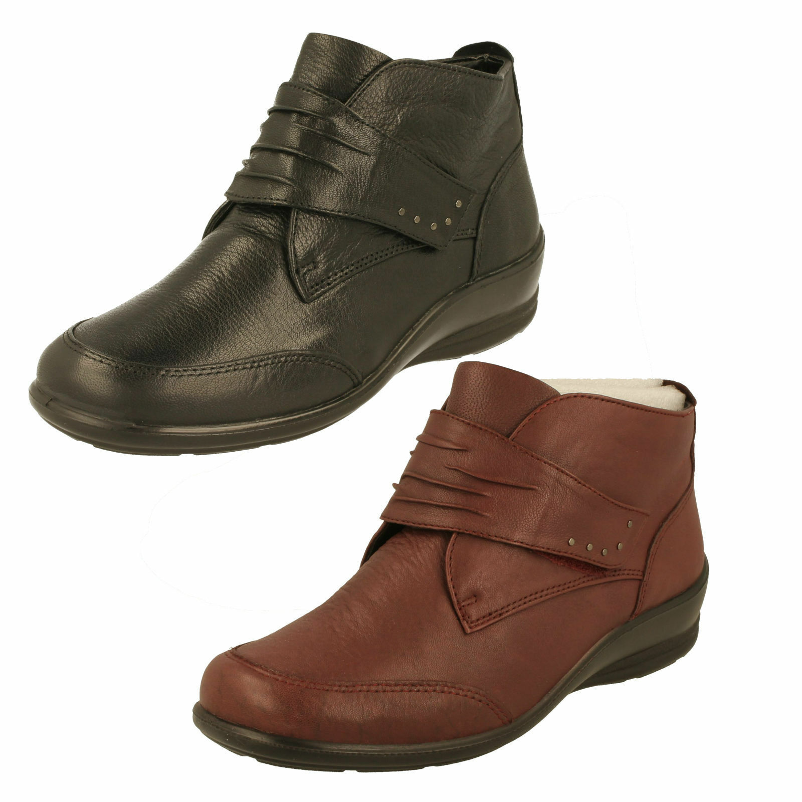 Grandes zapatos con descuento Ladies Padders Dual Fitting Ankle Boots - Tina