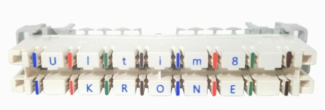 ADC Krone TE Highband Ultim8 Cat6 punch down blocks 6468 5 060 06 box of 10