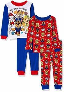 Bob The Builder Toddler Boys 4pc Snug Fit Pajama Pant Set Size 2T 3T 4T $44