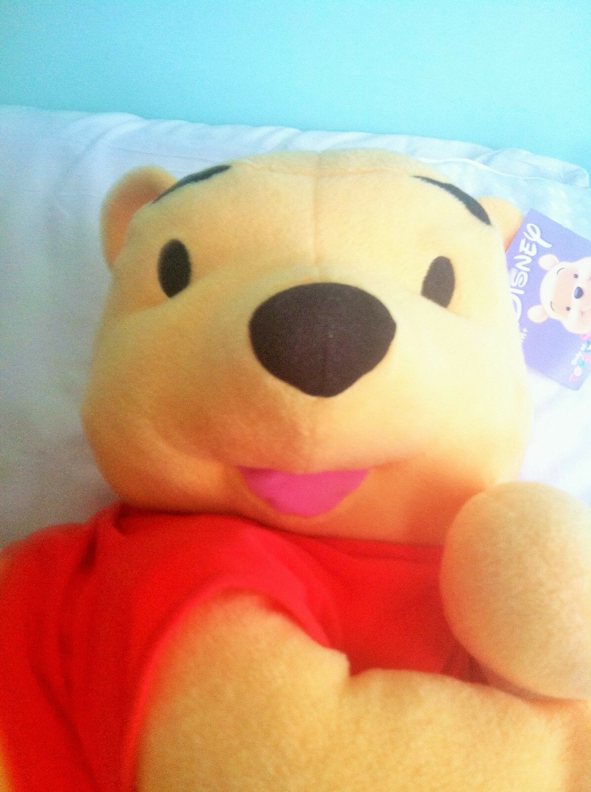 Winnie the Pooh Exclusive 22 Inch Mega Deluxe Lounging Pooh Plush