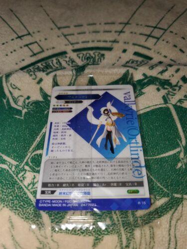 Ortlinde Details about  /Fate Grand Order FGO Wafer Set 7 R 15 valkyrie Lancer New NM//M