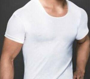 EGYPTIAN-COTTON-MENS-WHITE-UNDERSHIRT-100-TANK-TOP-PURE-WHITE-T-SHIRT-VEST-NEW
