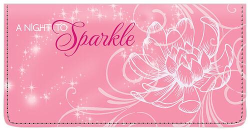 Disney Princess Canvas Checkbook Cover