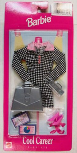 NEW Barbie Cool Career Fashions Business Executive Ensemble #68617-92