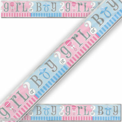 12FT Baby Shower Party Foil Banner Gender Reveal Party Supplies Unisex Neutral
