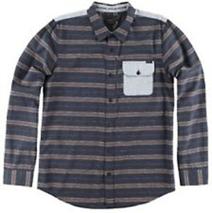 3499a9d51 Image is loading O-039-Neill-Roca-Shirt-M-Dark-Navy