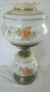 Vintage-Hand-Painted-Gone-With-The-Wind-Lamp-Soft-and-Elegant