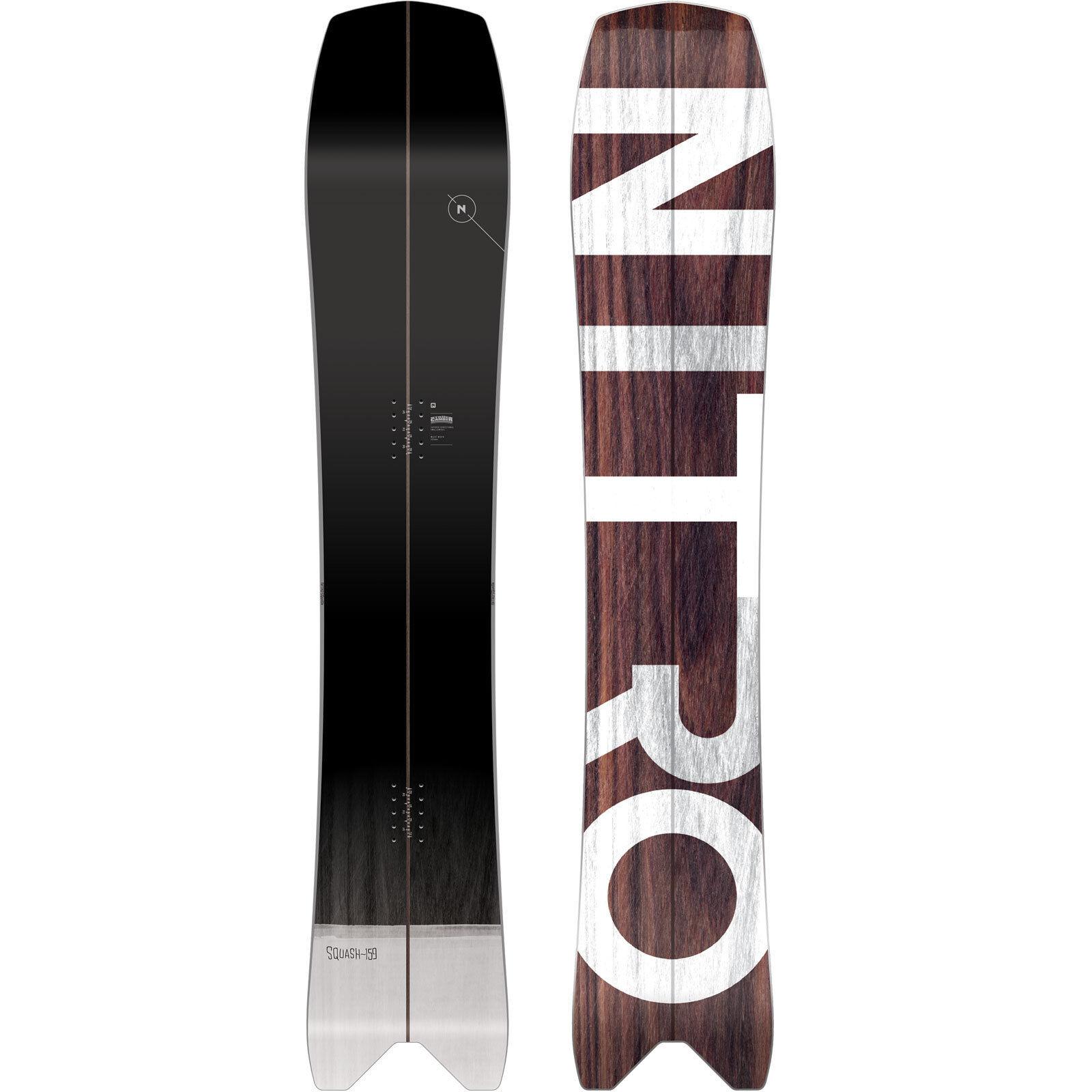 Nitro Squash Hombres Snowboard All Mountain Freeride Cola de de de Golondrina 2019 db7e50