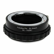 Fotodiox Objektivadapter DLX Stretch for Pentax K Lens to Fujifilm X Body