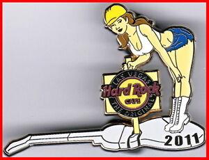 Hard-Rock-Cafe-LAS-VEGAS-2011-Sexy-CONSTRUCTION-Girl-PIN-Concrete-Guitar-63591
