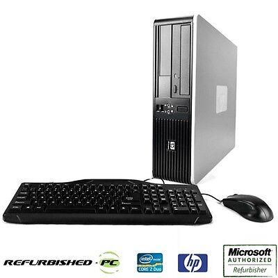 Wondrous Best Value Fast Hp Desktop Computer Pc Core 2 Duo Windows 10 Keyboard Mouse Ebay Download Free Architecture Designs Xoliawazosbritishbridgeorg