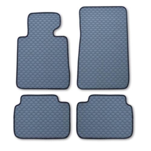 9//06 Octagon gris adecuado para bmw 3er e92 e 92 Coupe a partir del año de fabricación Áspero alfombrillas de goma