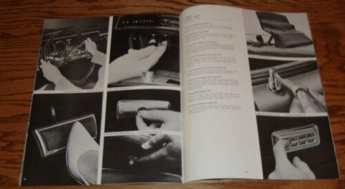 Original 1966 Pontiac Accessories Sales Brochure 66 Tempest Brougham Le Mans