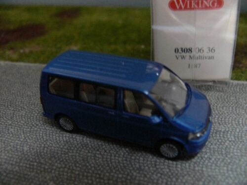 1//87 Wiking VW Multivan Blu Metallizzato 0308 06