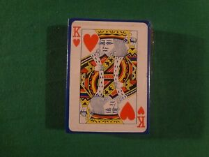 VINTAGE-PLASTIC-COATED-PLAYING-CARD-DECK