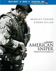 American Sniper (Blu-ray/DVD, 2-Disc Set, Canadian)