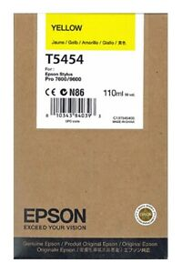 Epson-ink-for-stylus-pro-7600-9600-yellow-T5454