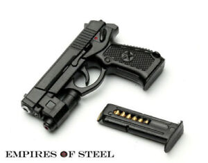 ZYTOYS ZY2009F 1//6 Scale Pistol Weapon Gun Model Toy F 12/'/' Figure