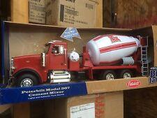 ERTL 1:16 BIG FARM Peterbilt Model 367 Cement Mixer Truck