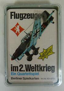 Quartett-Flugzeuge-im-2-Weltkrieg-Berliner-Spielkarten-Nr-6316783