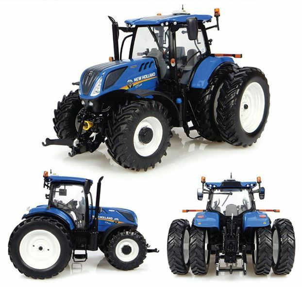 New Holland T7.225 Dual Wheels Tractor 1 32 Model 4962 UNIVERSAL HOBBIES