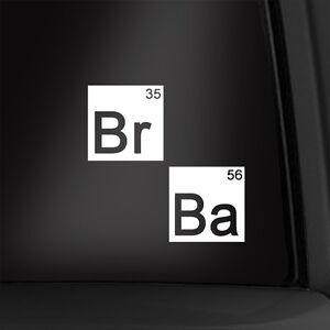 Breaking bad 4 inch vinyl decal periodic table elements sticker la foto se est cargando breaking bad 4 pulgadas de vinilo calcomania tabla urtaz Image collections