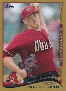 2014-Topps-Gold-2014-611-Patrick-Corbin-Arizona-Diamondbacks-Baseball-Card
