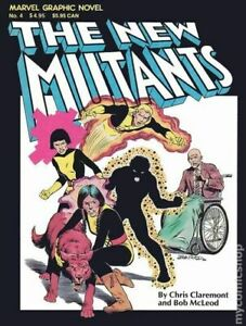 New Mutants GN #1-REP VG 1982 Stock Image