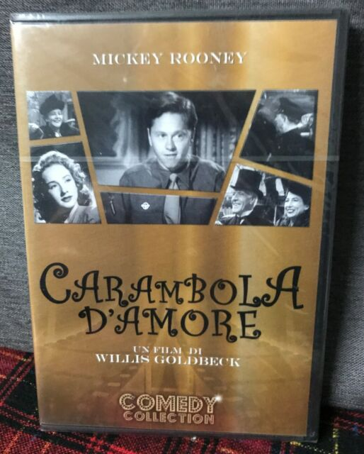 Carambola D'Amore (1947) DVD Nuovo Rooney Goldbeck - Love Laughts at Andy Hardy