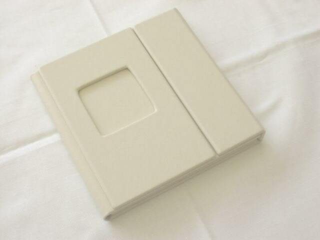 Professional Wedding CD/DVD Case - 2 disc,1 photo (Personalization Available)