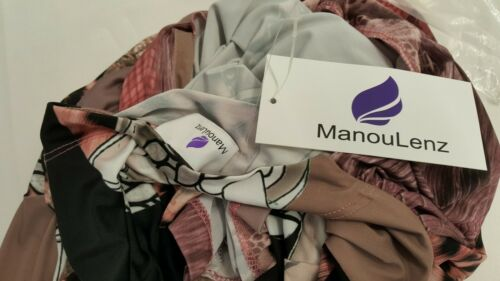 Manou Lenz Couture Kleid Purple Fashion UVP129€ Gr 506 36 40 Kofferkleid Neu