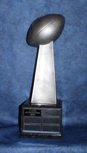 Large Lombardi Style Fantasy Football Perpetual Trophy//Black Base FREE ENGRAVING