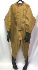 Vintage US Navy Hodgman Type II Diving Dry Suit