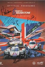 FORD GT HAND SIGNED LE MANS / WEC 2017 SILVERSTONE PROGRAMME.